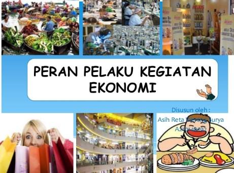 √Peran Pelaku Ekonomi : Rumah Tangga RTK, RTP dan Luar Negeri