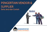 pengertian vendor dan supplier