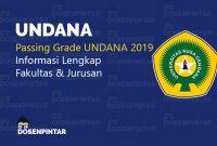 passing grade undana