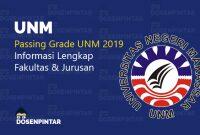 passing grade unm