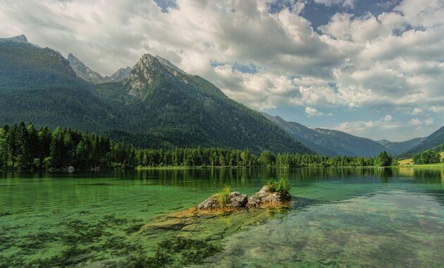 gambar pemandangan gunung