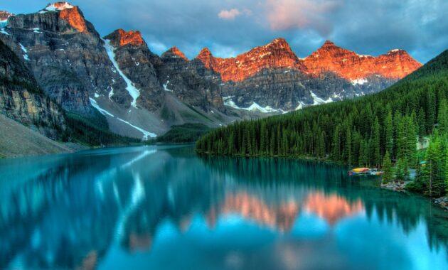 Terbaru Lukisan Dan Gambar Pemandangan Alam Dosenpintar