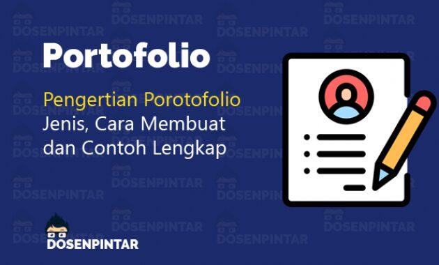Contoh Portofolio Fanspage