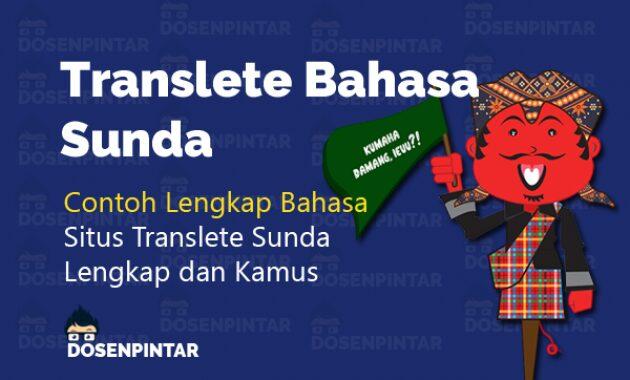 translete bahasa sunda