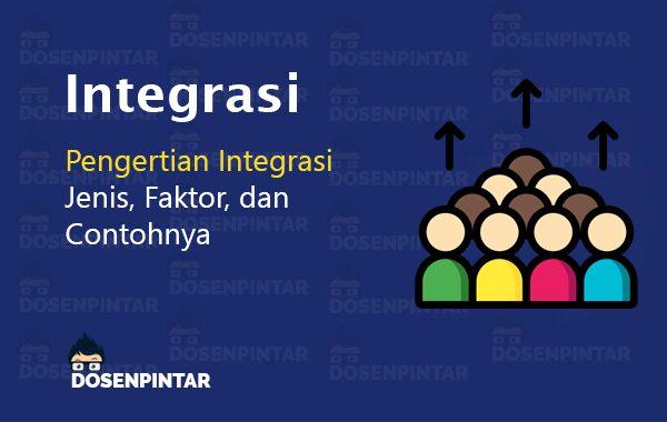 Pengertian Integrasi