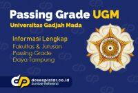 Passing Grade UGM Terbaru