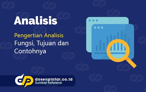 pengertian analisis