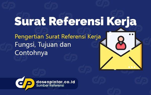 contoh surat referensi kerja