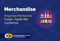 pengertian merchandise