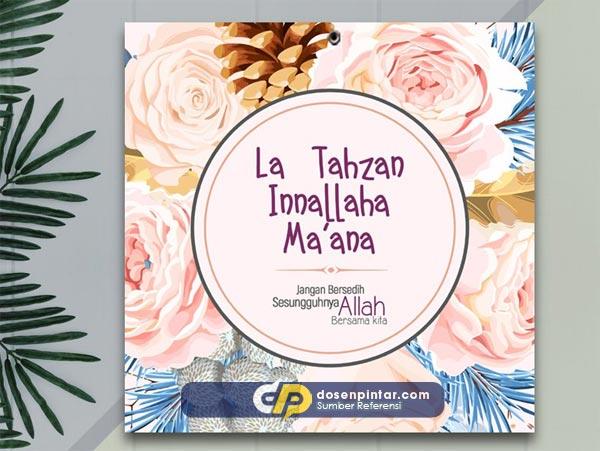 Pengertian La Tahzan Innallaha Ma'ana