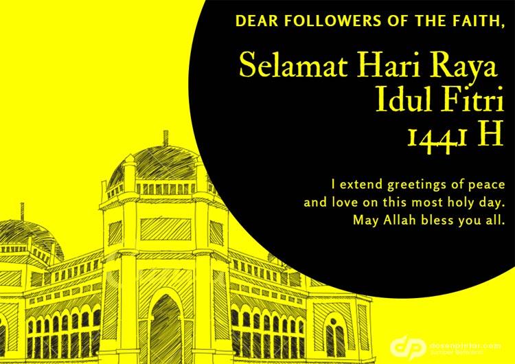Kumpulan Ucapan Idul Fitri 1441 H