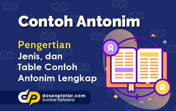 Contoh Antonim