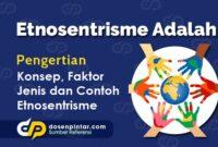Etnosentrisme Adalah