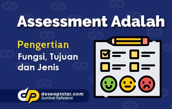 Pengertian Assessment
