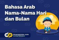 Bahasa Arab Nama-Nama Hari dan Bulan