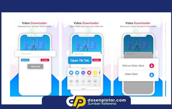 Video Downloader For All TikTok - NO Watermark