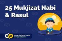 25 Mukjizat Nabi dan Rasul