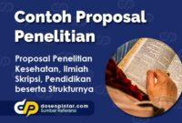Contoh Proposal Penelitian