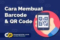 Cara Membuat Barcode & QR Code