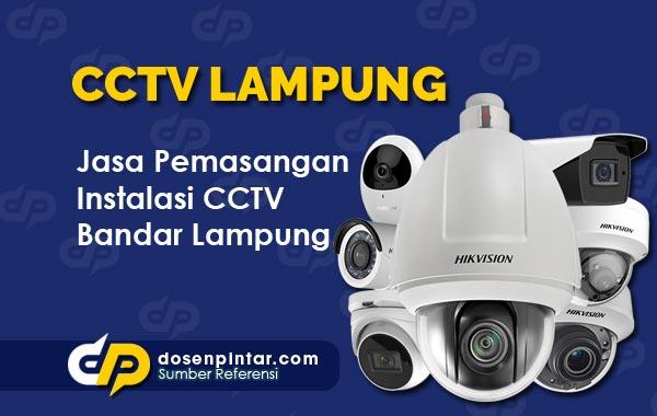 Jasa Pasang CCTV Bandar Lampung