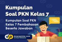 Soal PKN Kelas 7