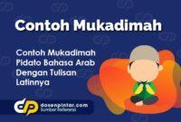 Contoh Mukadimah
