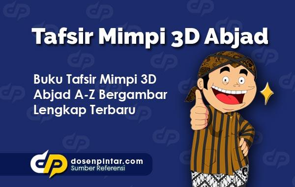 Buku Mimpi 3D Abjad