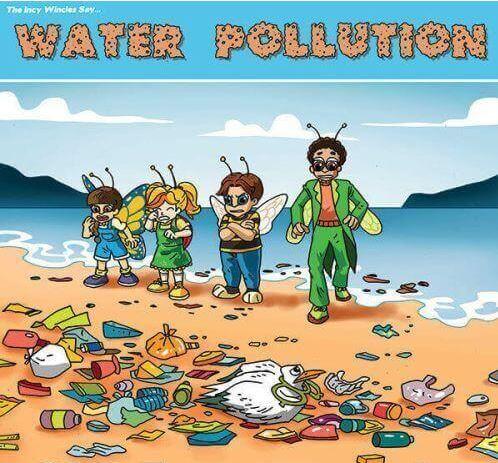 poster Pencemaran Air