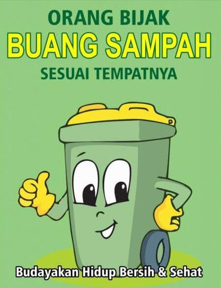 poster Lingkungan Bersih dari Sampah