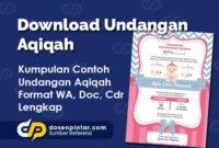 Download Undangan Aqiqah
