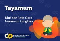Tata Cara Tayamum